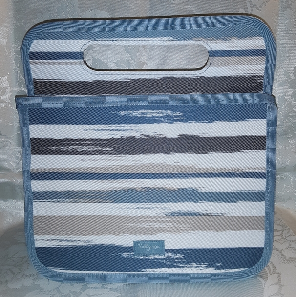 Thirty-One Double Duty Caddy, Brush Strokes